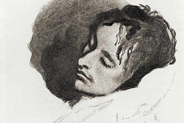 Did criticism kill John Keats? Sketch by Joseph Severn of the poet in his last illness