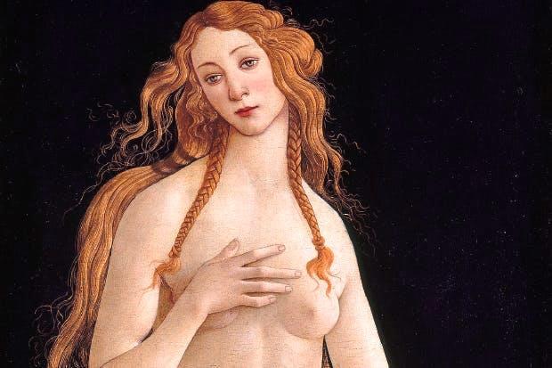 'Venus', 1490s, by Sandro Botticelli