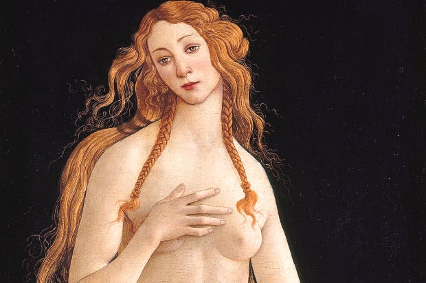 'Venus', 1490s, by Sandro Botticelli