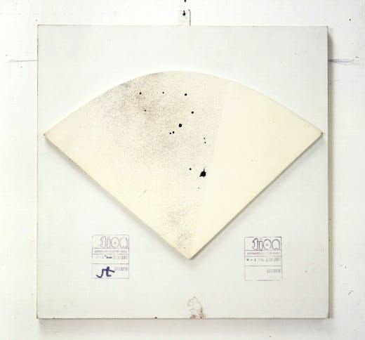 John Latham's 'Two Noit. One Second Drawing', 1970-71