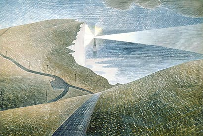 'Beachy Head' by Eric Ravilious