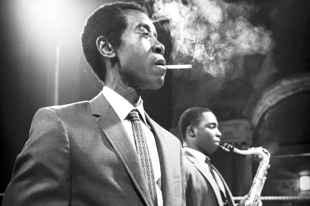 Dark magus: Don Cheadle as Miles Davis in 'Miles Ahead'