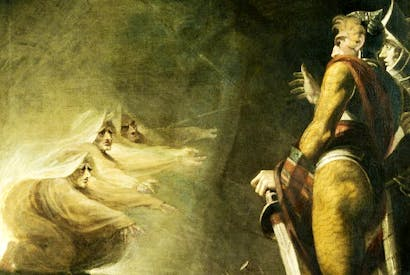 'Macbeth, Banquo and Witches on the Heath', 1794, by Henry Fuseli