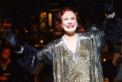 Glenn Close as Norma Desmond in 'Sunset Boulevard'