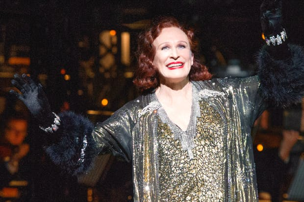 Glenn Close as Norma Desmond in 'Sunset Boulevard'