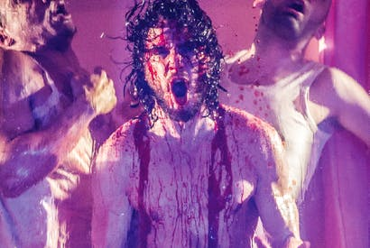 Talk of the Devil: Kit Harington in 'Doctor Faustus'