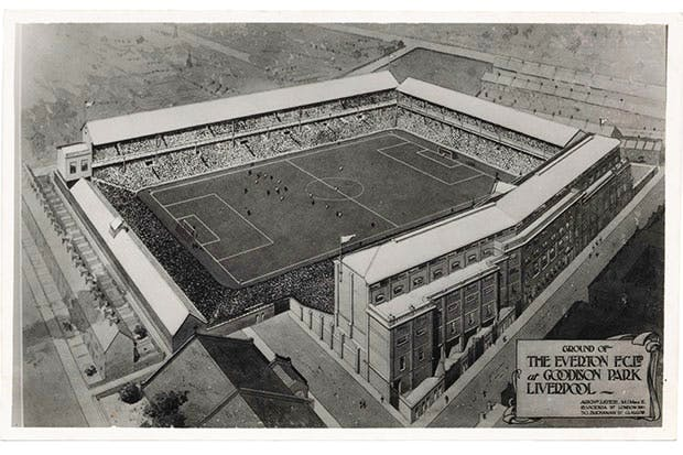 Making a stand: Archibald Leitch's drawing for Goodison Park