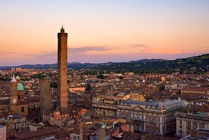 Bologna's core: grand in the renaissance manner