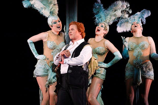 Siegfried and The Rhinemaidens Photo: Jeff Busby