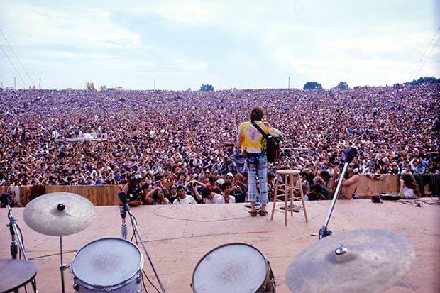 Natural high: John Sebastian's acoustic set at Woodstock, 1969