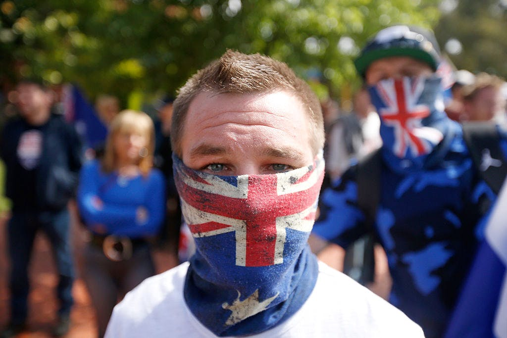 Reclaim Australia Rally Held In Melbourne