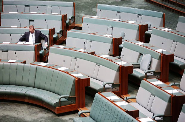 Parliament Sits As Warren Truss And Andrew Robb Announce Retirement From Politics