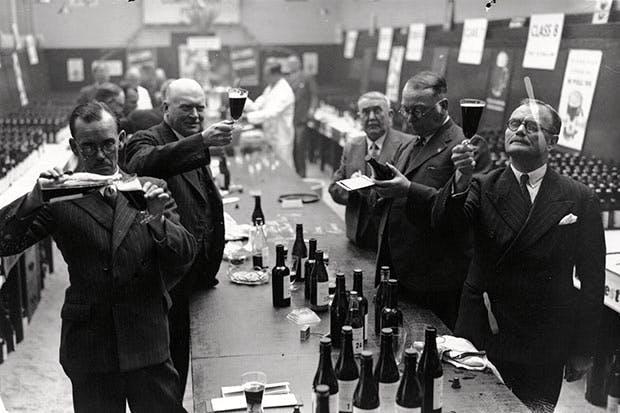 Beer testing in 1937