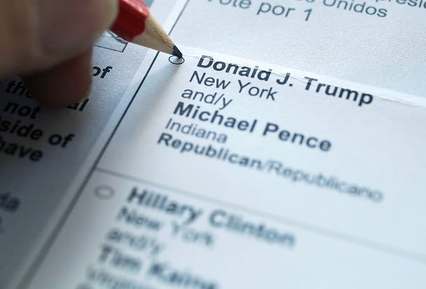 Voters Prepare For U.S. Presidential Elections