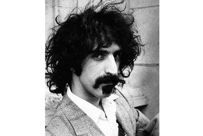 A visitor to Atlantis: Frank Zappa