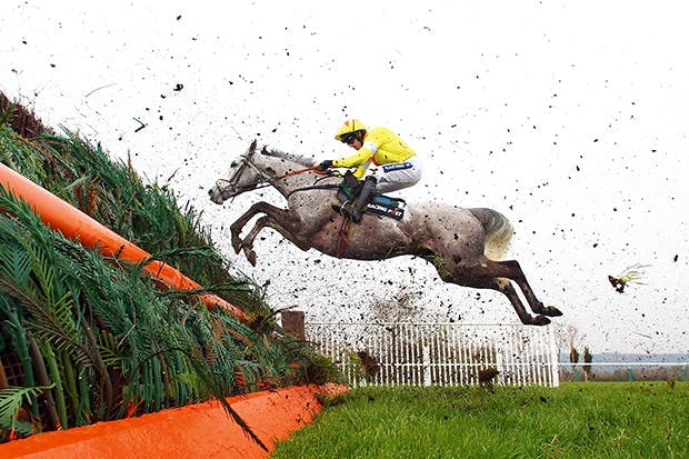 Ruby Walsh riding Al Ferof at Cheltenham