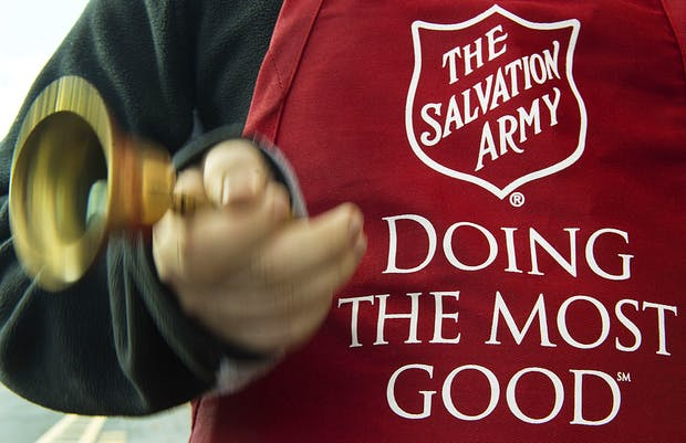 US-CHARITY-SALVATION ARMY