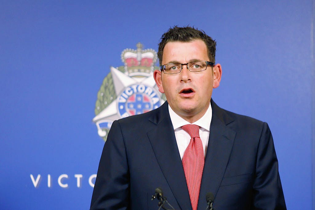 Victoria Police Address Media In Regards To Sydney Hostage Incident