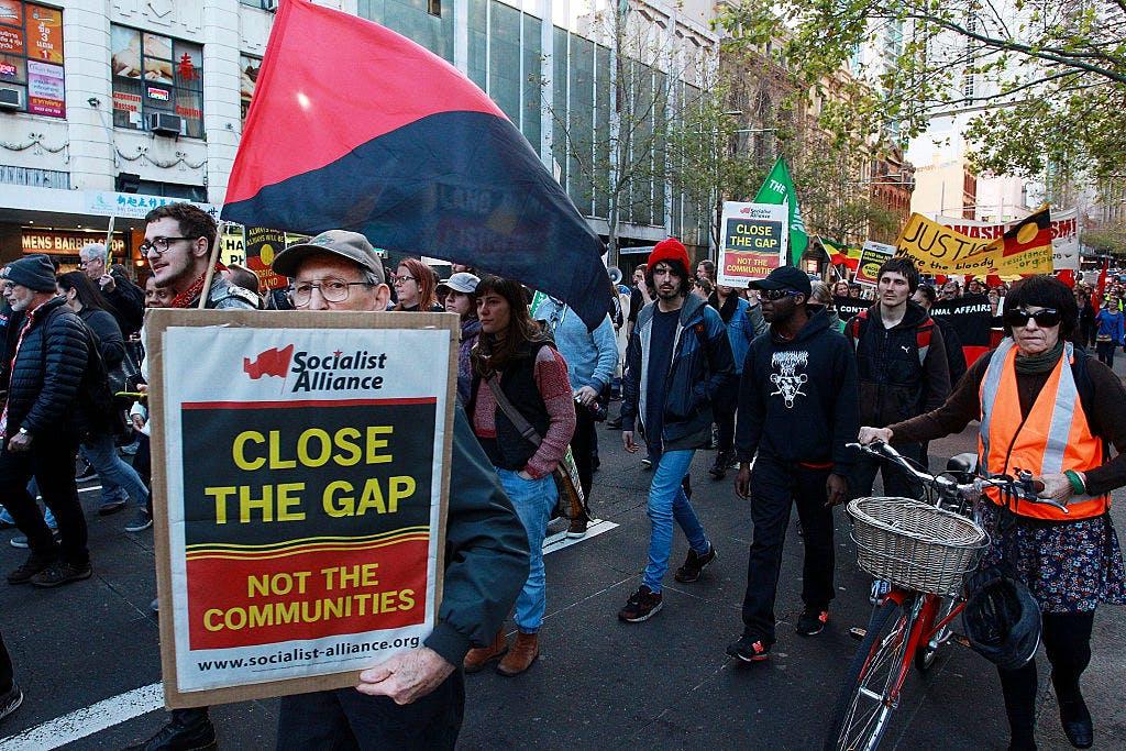 Sydney Rallies Against Closure Of Western Australian Aboriginal Communities