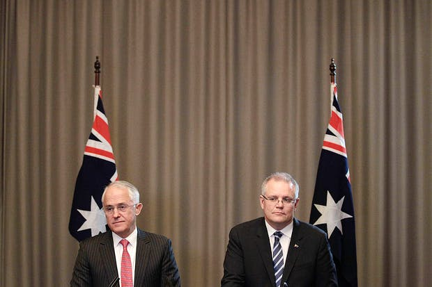 Prime Minister Malcolm Turnbull And Treasurer Scott Morrison Respond To Brexit Outcome