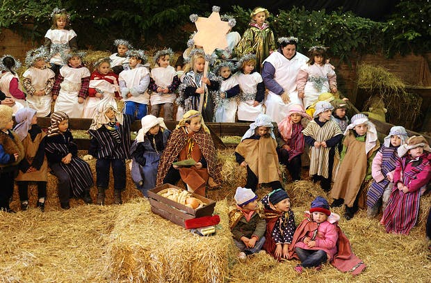 Pennywell Farm Hosts Traditional Nativity