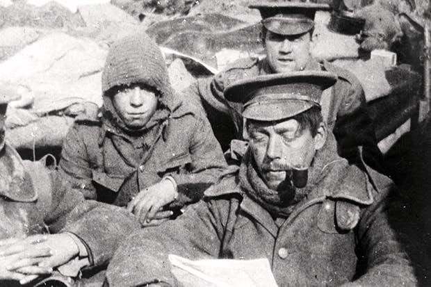 Infantrymen, circa 1915