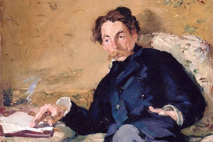 Portrait of Stéphane Mallarmé by Edouard Manet, 1876