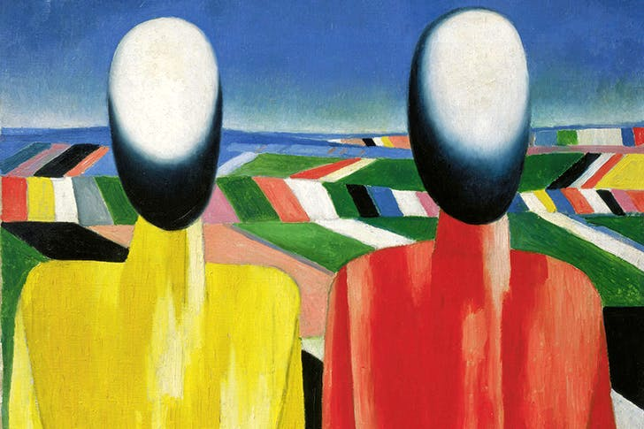 'Peasants', c.1930, by Kazimir Malevich
