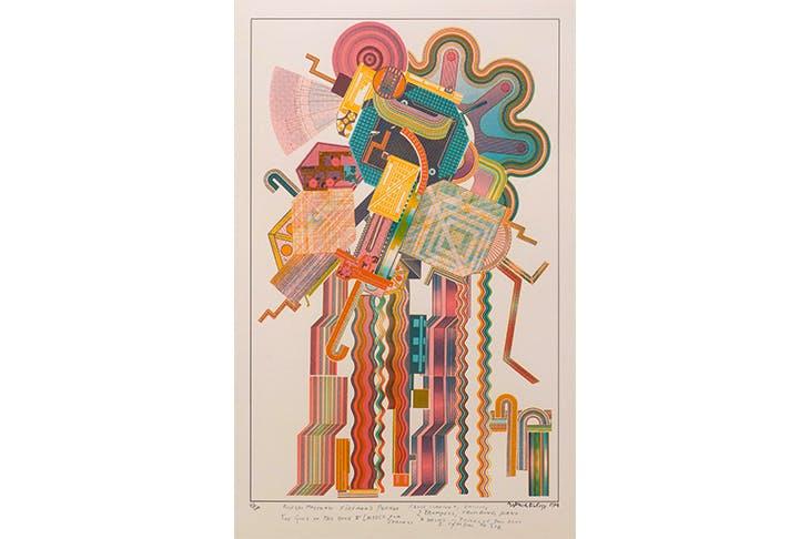 'Allegro Moderato Fireman's Parade' (from the Calcium of Light portfolio), 1974–76, by Eduardo Paolozzi