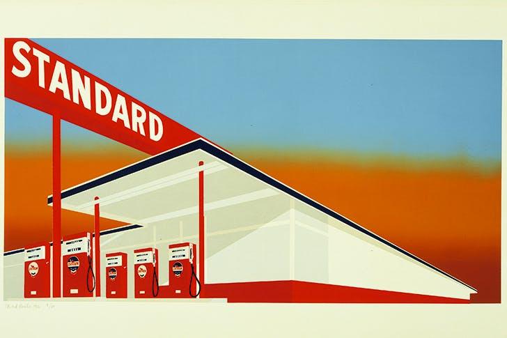 American beauty: 'Standard Station', 1966, by Ed Ruscha