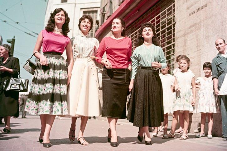 A Neapolitan quartet, Naples 1955