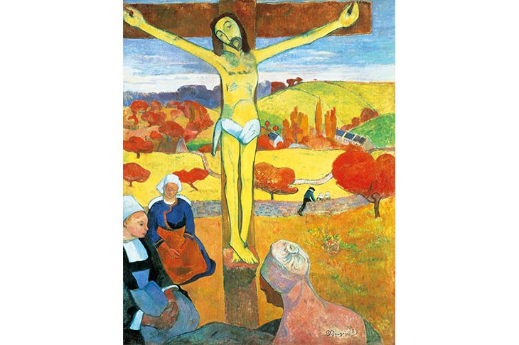 The Yellow Christ' by Paul Gauguin, 1889