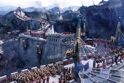 Joint account: a scene from 'The Great Wall', China's most expensive film to date