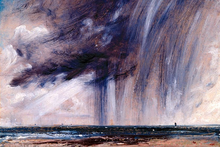 'Rainstorm over the sea', 1824–28, by John Constable © Royal Academy of Arts, London; Photographer: John Hammond