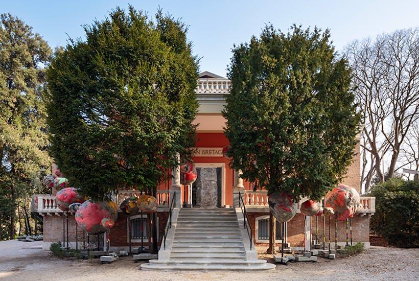 Folly by Phyllida Barlow, British Pavilion, Venice, 2017