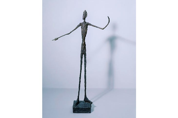 'Man Pointing', 1947, by Alberto Giacometti