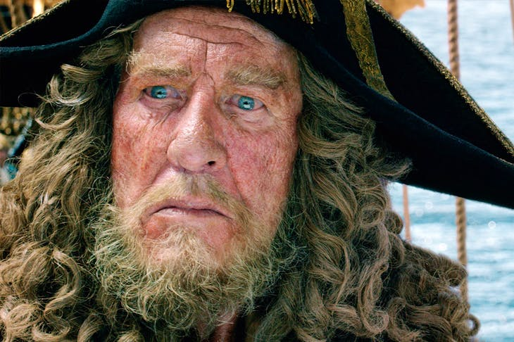 A ragbag of pointless subplots: Geoffrey Rush and Javier Bardem in Pirates of the Caribbean: Salazar's Revenge