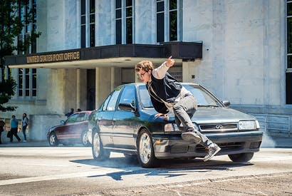 Cut to the chase: Ansel Elgort as Baby in Baby Driver