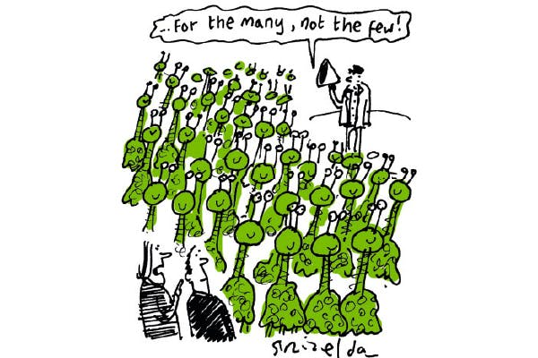 'You'd never get this many Martians wanting to see Theresa May.'