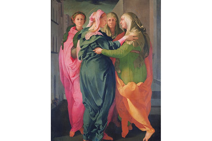 Do the bump: 'The Visitation', 1528–30, by Jacopo da Pontormo
