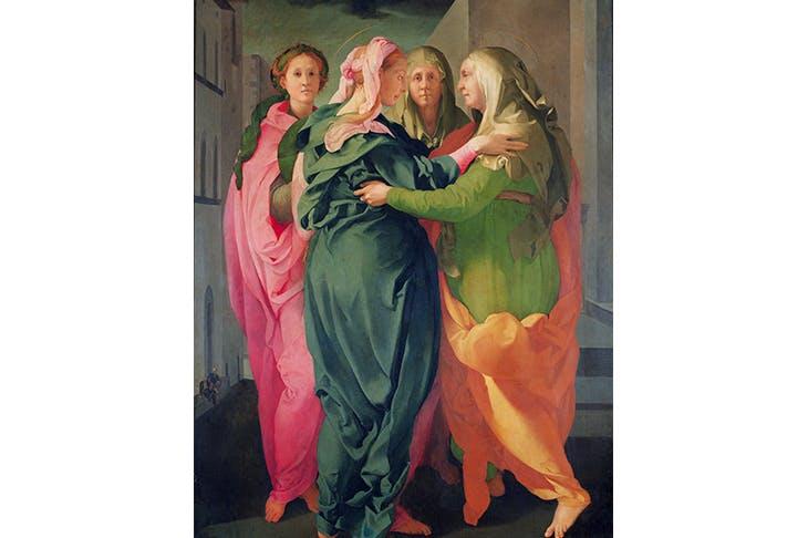 Do the bump: 'The Visitation', 1528–30, by Jacopo da Pontormo