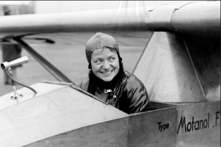 Hanna Reitsch — a committed Nazi and idol of German aviation.