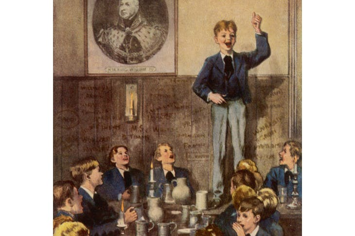 Tom Brown's School Days, illustrated by Solomon van Abbe
