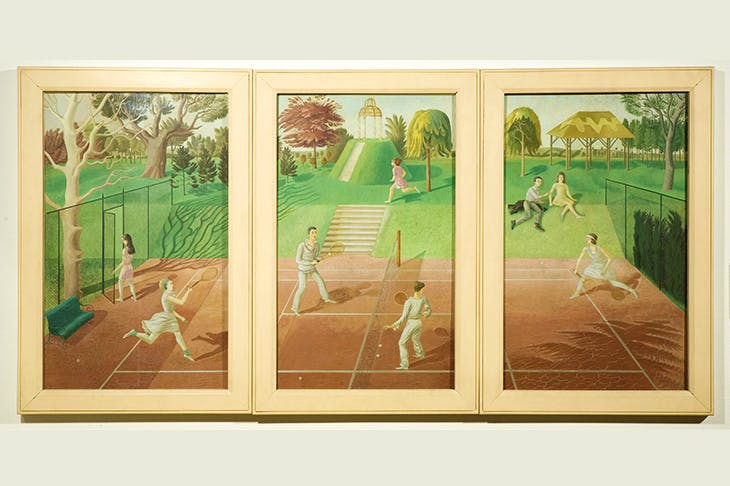 'Tennis', 1930, by Eric Ravilious