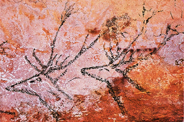 Was the artist of Lascaux just desperate for peace?