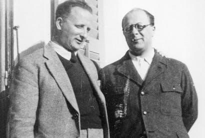 Nello and Carlo Rosselli, photograph from a family album