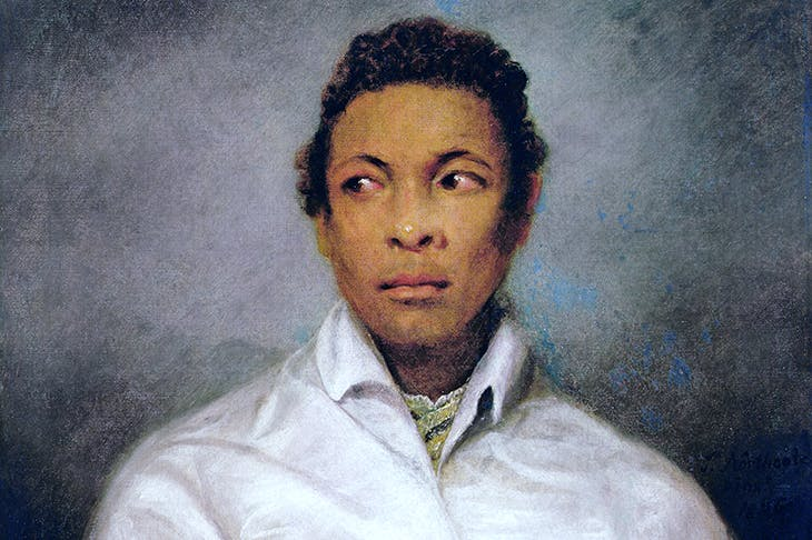 Ira Aldridge as Othello, painted in 1826 by James Northcote