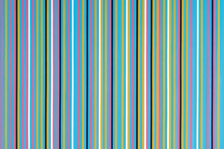 Moving pictures: 'Achaean', 1981, by Bridget Riley
