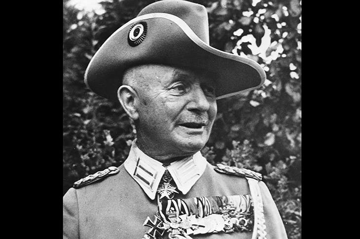 General Paul von Lettow-Vorbeck in 1917