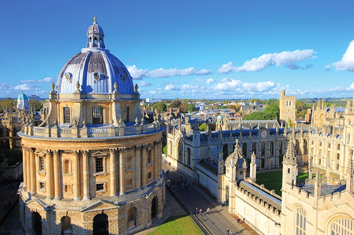 Oxford's spires mark a new beginning